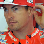 FILE - In this Friday, June 14, 2013 file photo, Nicky Hayden, of the U.S sits in his garage at the Montmelo racetrack in Montmelo, outside Barcelona. The Maurizio Bufalini Hospital has announced that American motorcycle racer Nicky Hayden has died, five days after being hit by a car while training on his bicycle Hayden was 35. (ANSA/AP Photo/Manu Fernandez, File) [CopyrightNotice: Copyright 2017 The Associated Press. All rights reserved.]